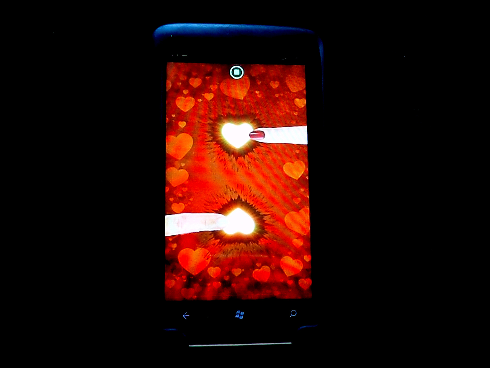 There's a 'Love Detector' application for my smart phone. It ...
