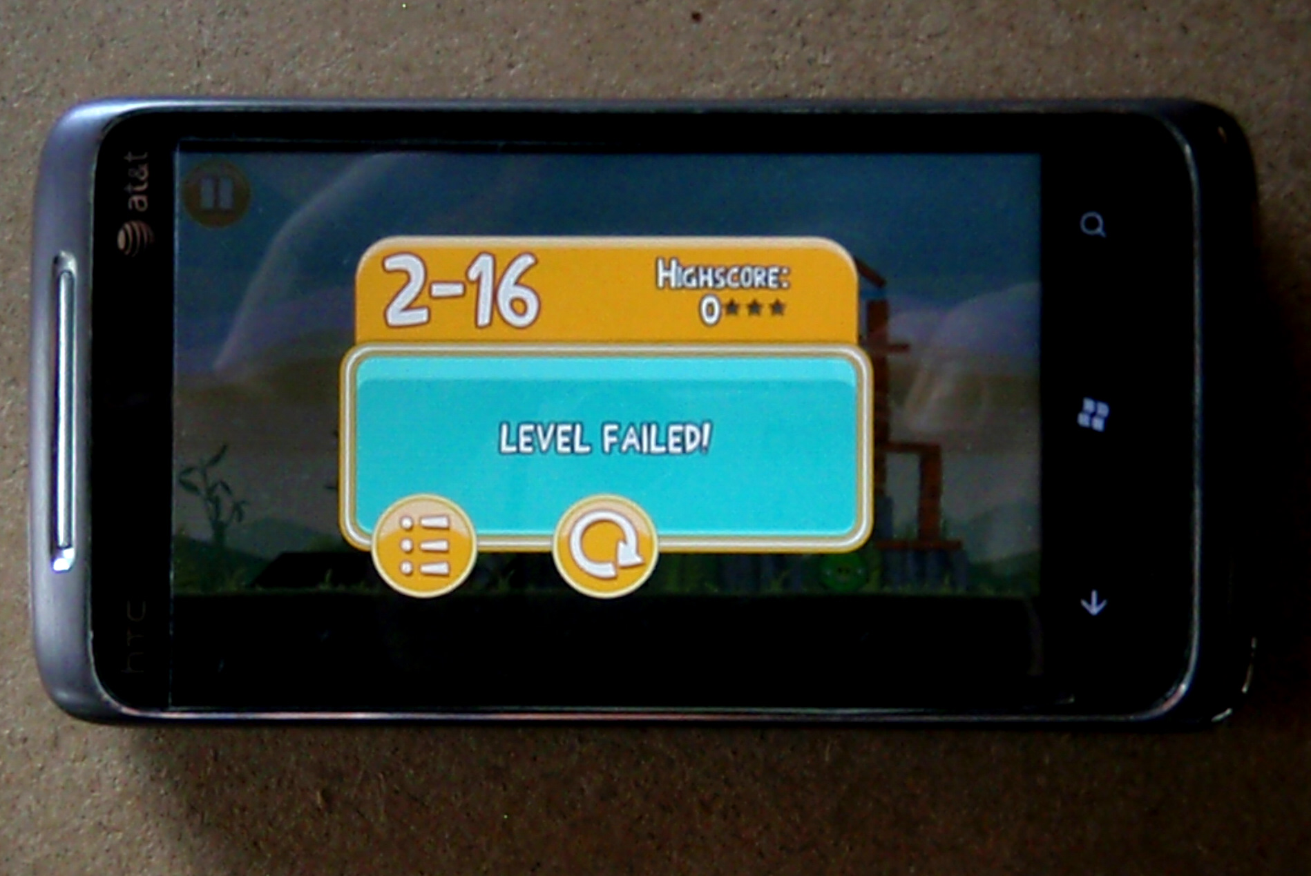Angry Birds Words 2 Level Failed Good Life