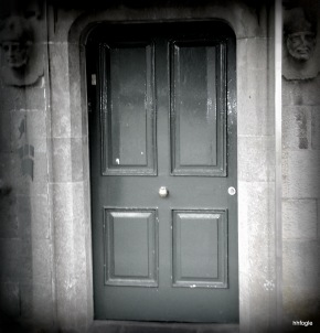 Behind that door